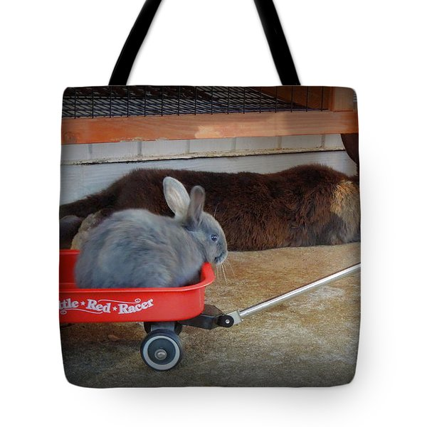 Pull Me Mom Tote Bag by Renee Trenholm