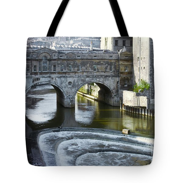 Pulleney Bridge Tote Bag by Bob Phillips