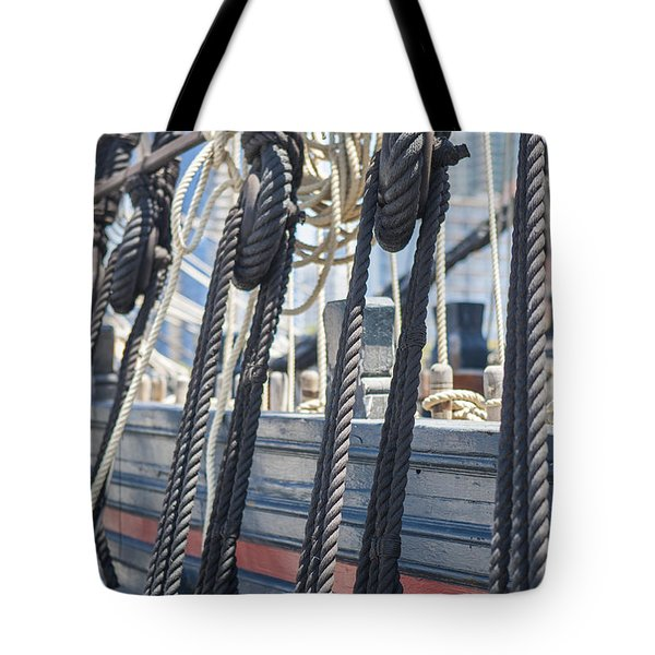 Pulley And Stay Tote Bag