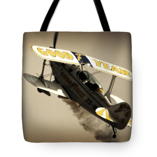Pulling Up Tote Bag