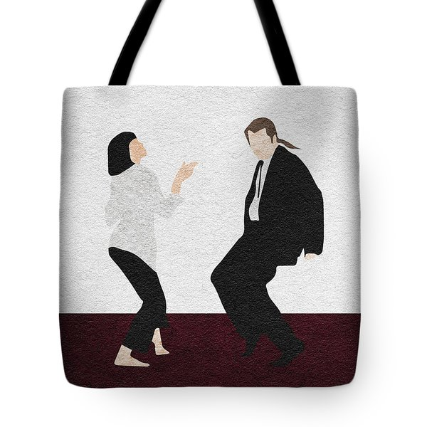 Pulp Fiction 2 Tote Bag by Ayse Deniz