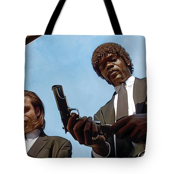 Pulp Fiction Artwork 1 Tote Bag