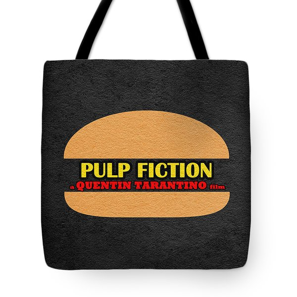 Pulp Fiction Tote Bag by Ayse Deniz