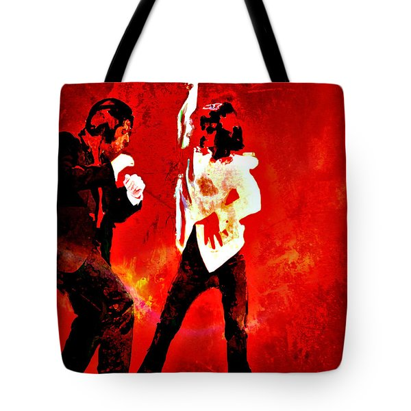Pulp Fiction Dance 2 Tote Bag
