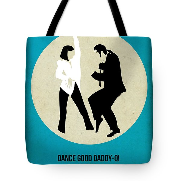 Pulp Fiction Poster 2 Tote Bag by Naxart Studio