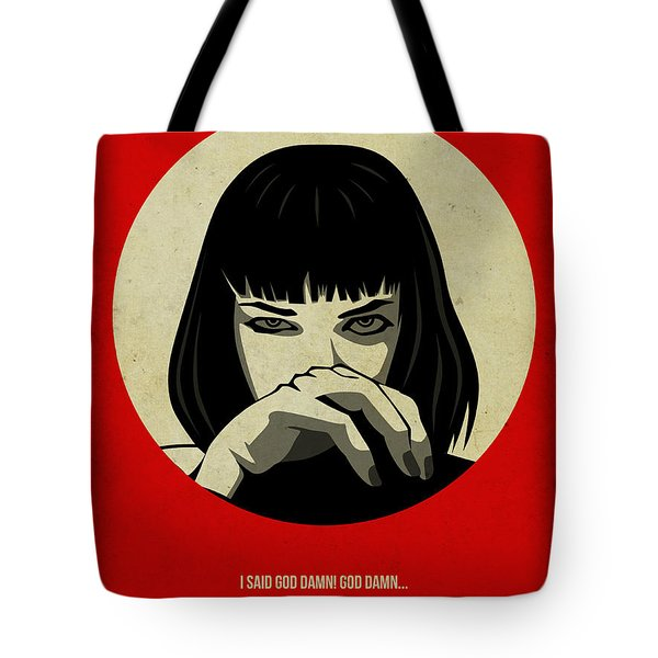 Pulp Fiction Poster Tote Bag