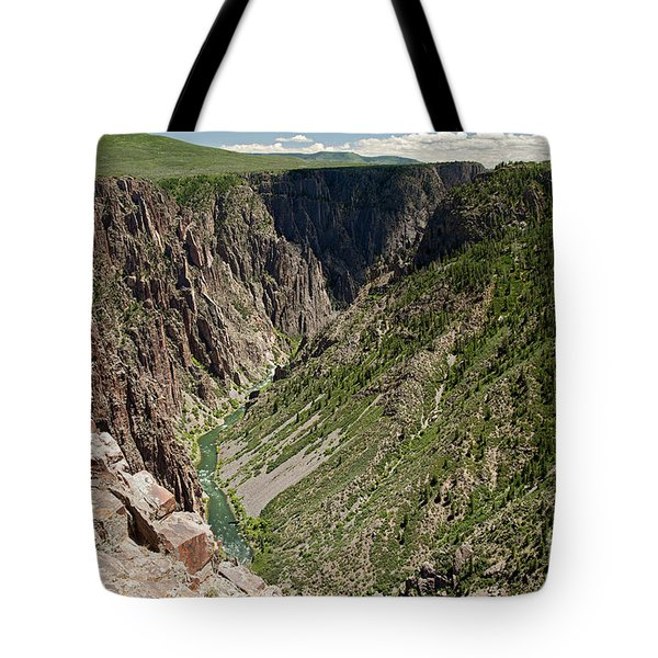 Pulpit Rock Overlook Black Canyon Of The Gunnison Tote Bag