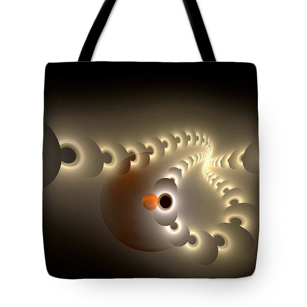Pulse Eject Tote Bag by GJ Blackman