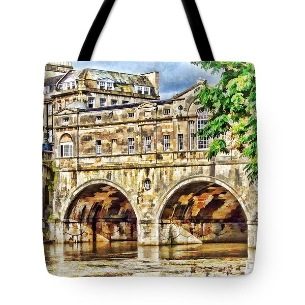Pulteney Bridge Bath Tote Bag