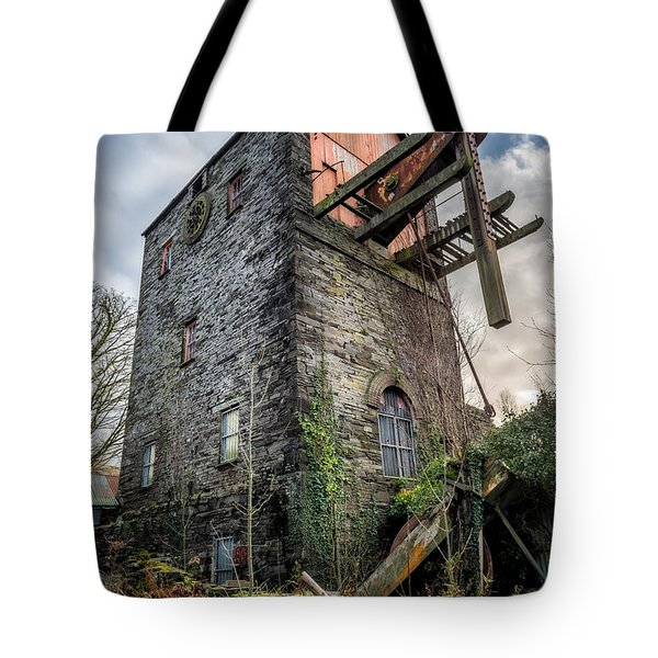 Tote Bag featuring the photograph Pump House by Adrian Evans