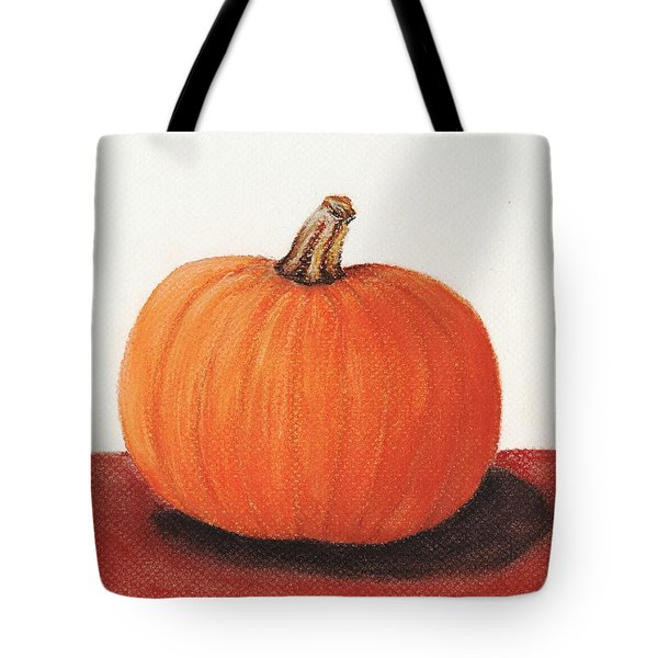 Pumpkin Tote Bag by Anastasiya Malakhova
