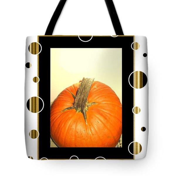 Pumpkin Card Tote Bag