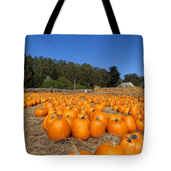 Pumpkin Farm Tote Bag