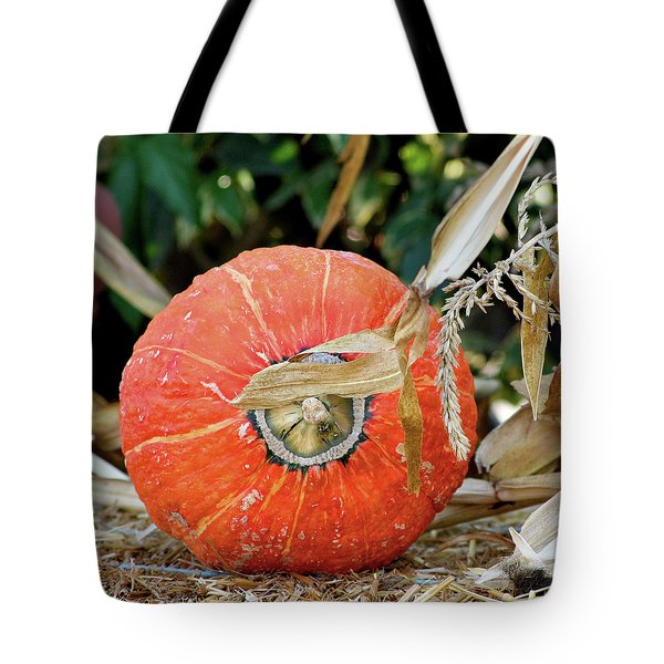 Pumpkin Harvest Tote Bag