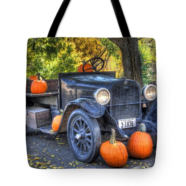 Pumpkin Hoopie Tote Bag