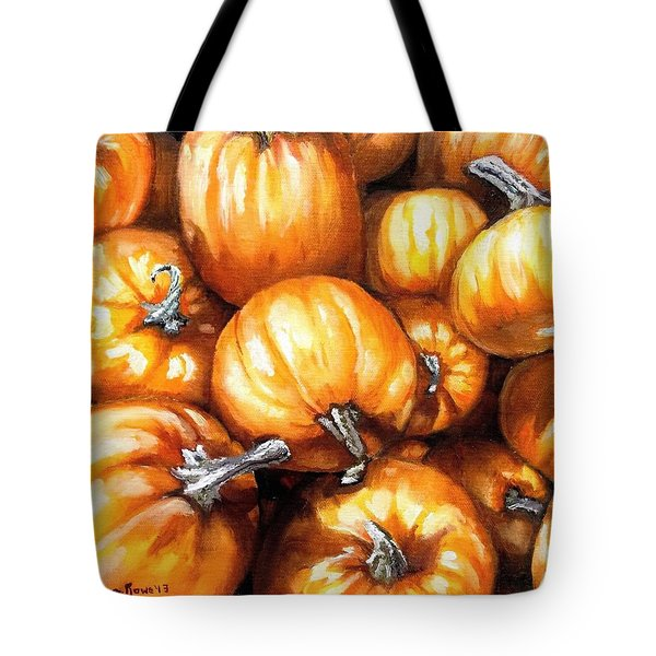 Pumpkin Palooza Tote Bag by Shana Rowe Jackson