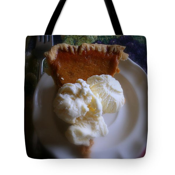 Pumpkin Pie A' La Mode Tote Bag