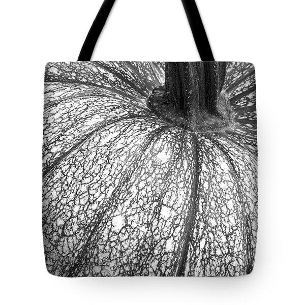 Pumpkin Pumpkin Black And White Tote Bag
