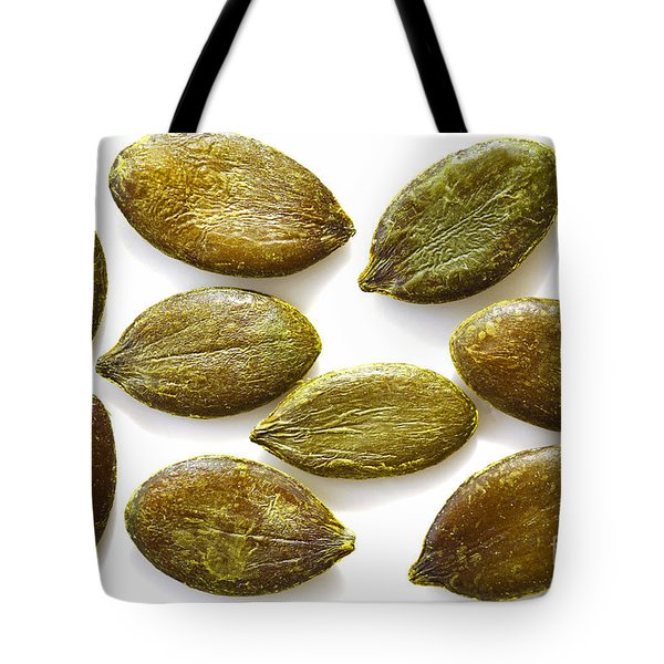 Tote Bag featuring the photograph Pumpkin Seeds by Craig B