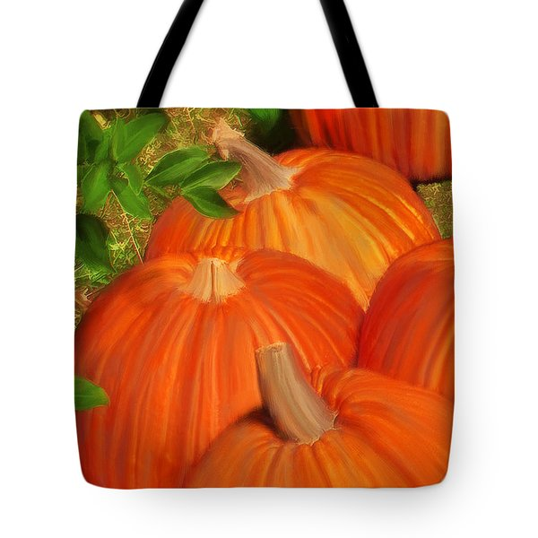 Pumpkins Pumpkins Everywhere Tote Bag