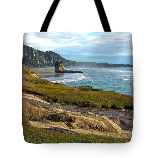 Tote Bag featuring the photograph Punakaiki Truman Track by Stuart Litoff