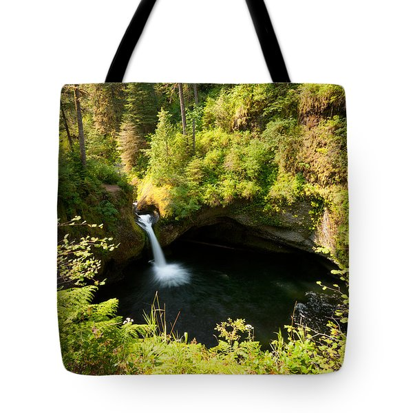 Punch Bowl Overlook Tote Bag