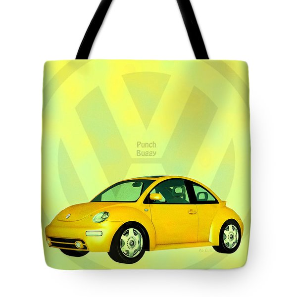 Punch Buggy Tote Bag by Bob Orsillo