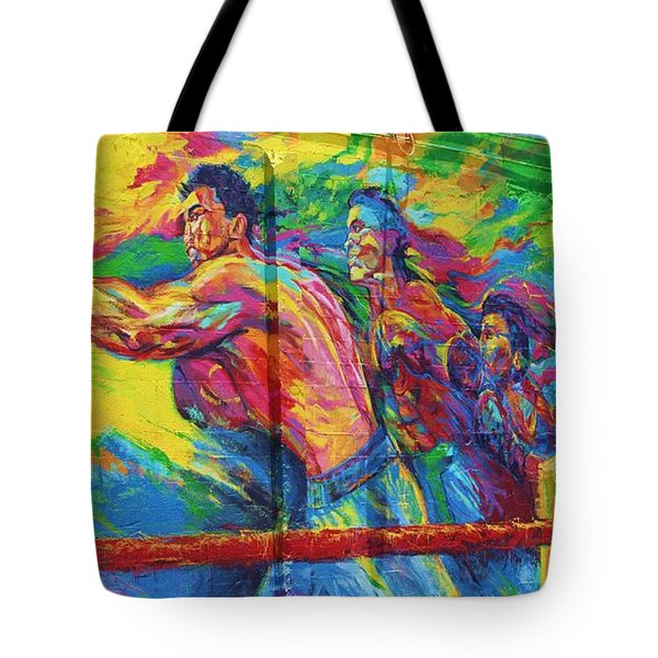 Punch Tote Bag by Chuck  Hicks