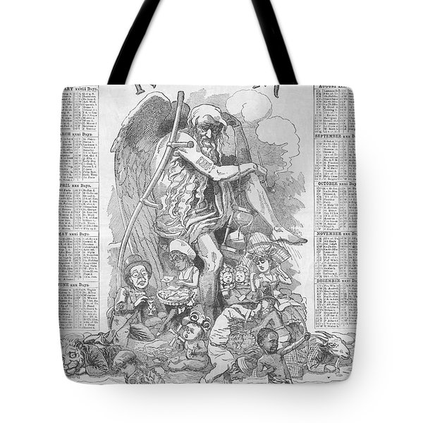 Punch's Almanack For 1885 Tote Bag