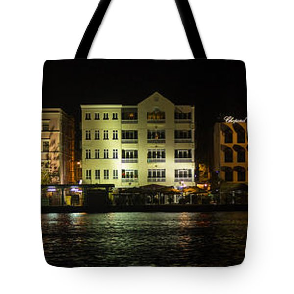 Punda At Night Panoramic Tote Bag