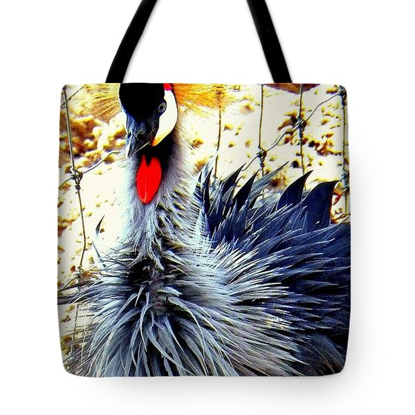 Tote Bag featuring the photograph Punk by Faith Williams