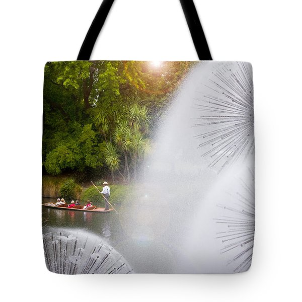 Punting On The Avon Tote Bag