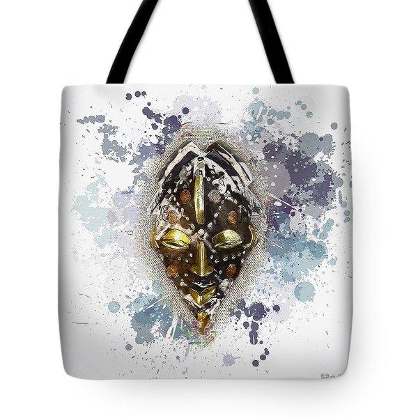 Punu Prosperity Mask Tote Bag