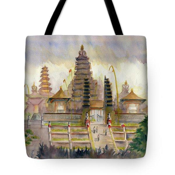 Pura Besakih Bali Tote Bag