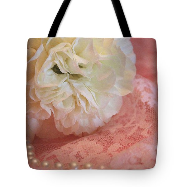Pure Beauty Tote Bag by The Art Of Marilyn Ridoutt-Greene