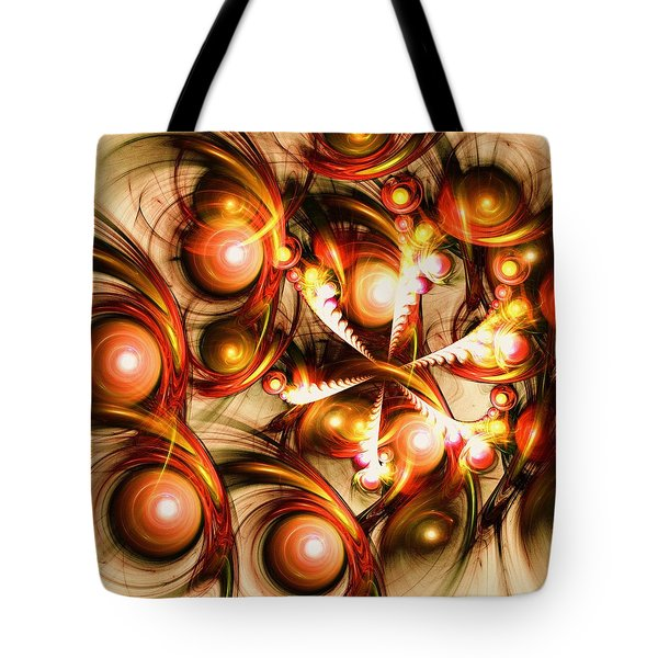 Pure Energy Tote Bag by Anastasiya Malakhova