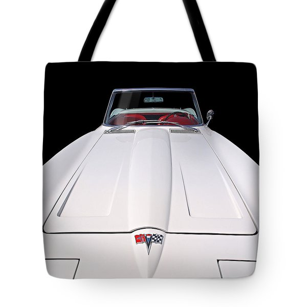 Pure Enjoyment - 1964 Corvette Stingray Tote Bag