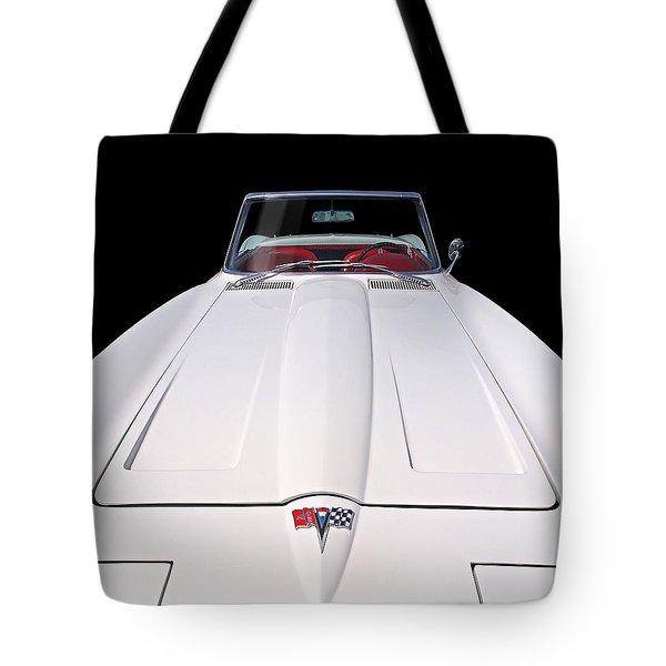 Pure Enjoyment - 1964 Corvette Stingray Tote Bag