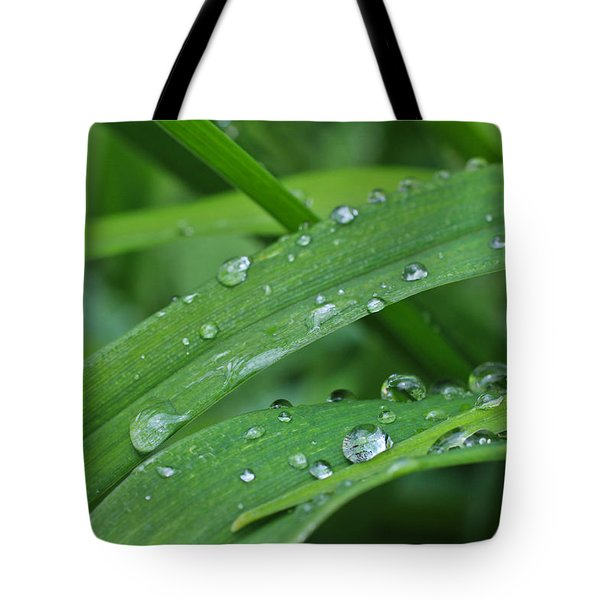 Pure Green Tote Bag
