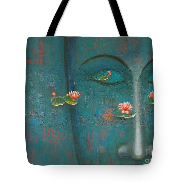 Pure Thoughts Tote Bag by Mini Arora