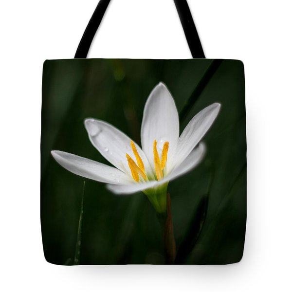 Pure White - Lily Tote Bag