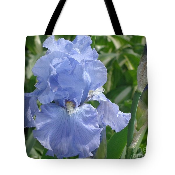 Purely Pretty Iris Tote Bag