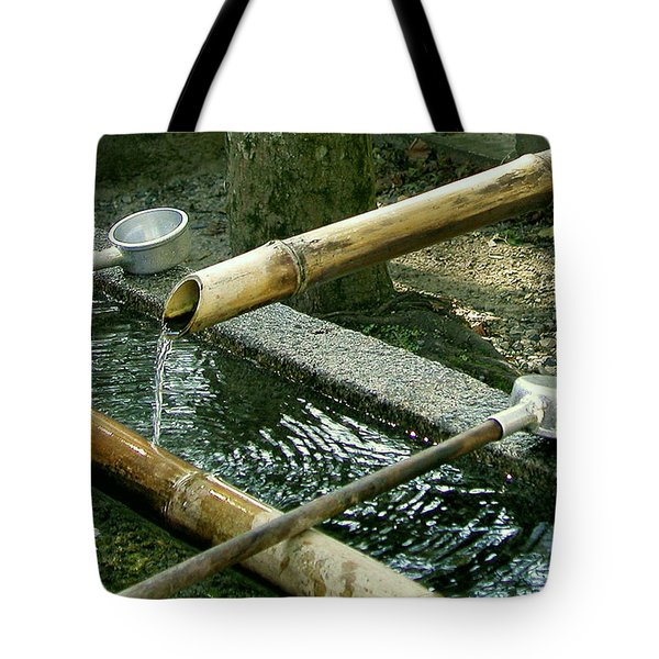 Purification Tote Bag by Jean Hall