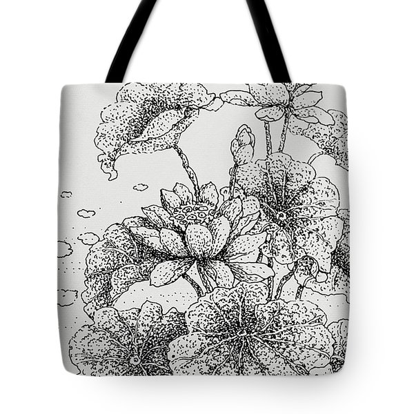 Purity And Beauty Tote Bag