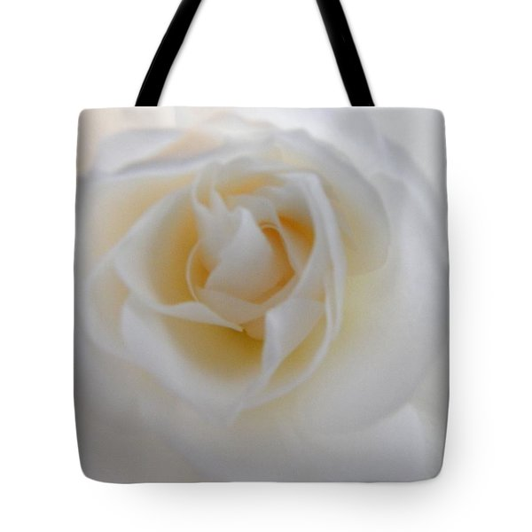 Tote Bag featuring the photograph Purity by Deb Halloran