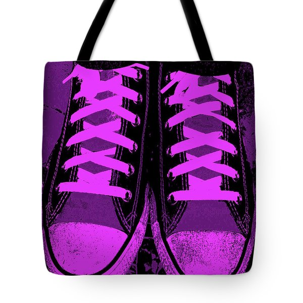 Purpink Tote Bag by Ed Smith