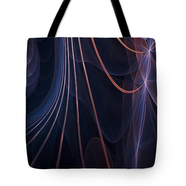Purple Ablaze Tote Bag