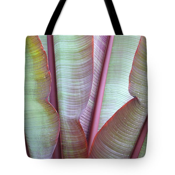 Tote Bag featuring the photograph Purple Banana by Evelyn Tambour