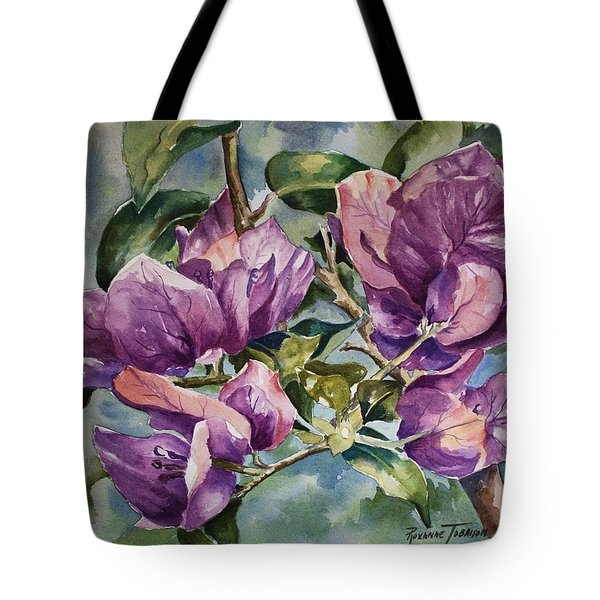 Purple Beauties - Bougainvillea Tote Bag