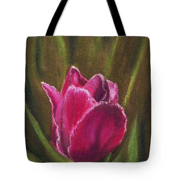 Purple Beauty Tote Bag by Anastasiya Malakhova
